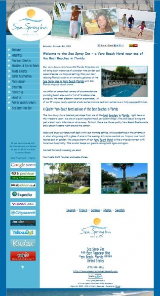 Vero Beach hotel-website